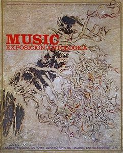 Offset Music - Affiche de l'exposition à Madrid