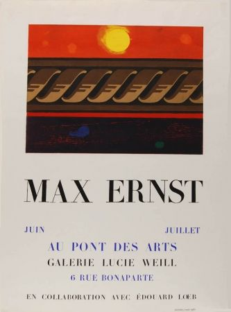 Aucune Technique Ernst - Affiche D'exposition