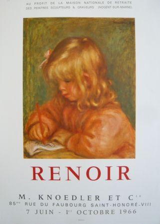 Affiche Renoir - Affiche d'exposition