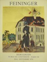 Affiche Feininger - Affiche d'exposition