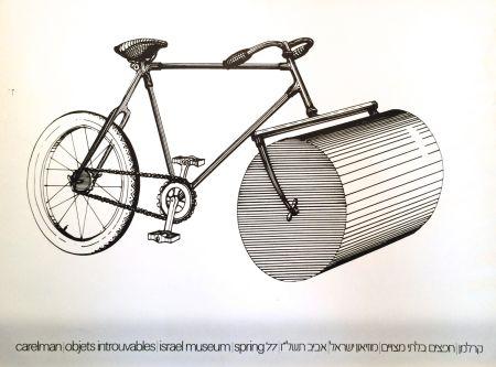 Sérigraphie Carelman - Affiche d'Exposition