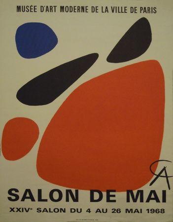 Affiche Calder - Affiche du salon de mai, 1968