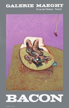 Affiche Bacon - Affiche en lithographie