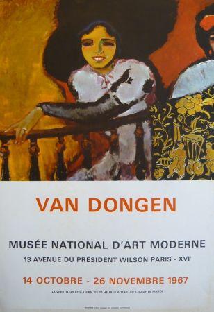 Affiche Van Dongen - Affiche exposition Musée d'art moderne