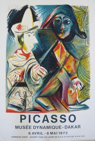 Affiche Picasso - Affiche exposition Musée dynamique de Dakar