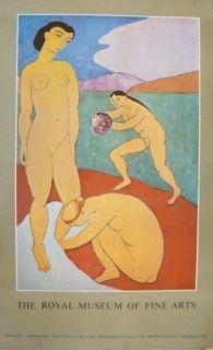 Affiche Matisse - Affiche exposition Royal museum of fine arts of Copenhagen