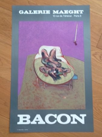 Affiche Bacon - Affiche Galerie Maeght