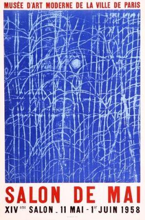 Affiche Ernst - Affiche lithographié pour le salon de mai