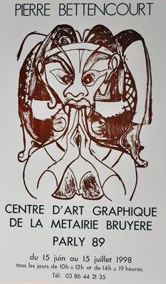Affiche Bettencourt - Affiche P.B.
