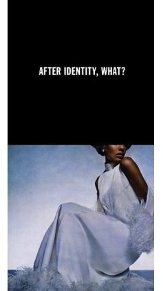 Photographie Hank - After Identity, What?