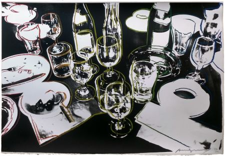 Sérigraphie Warhol - AFTER THE PARTY FS II.183