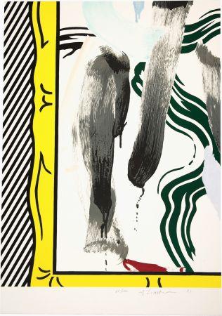 Lithographie Lichtenstein - Against Apartheid