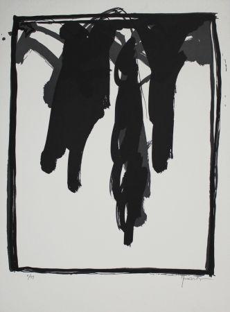Lithographie Hernandez Pijuan - A.L. Barcelona-III