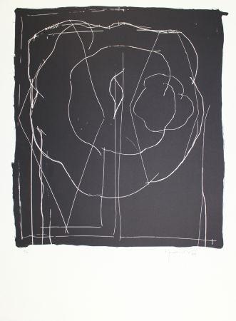 Lithographie Hernandez Pijuan - A.L. Barcelona-IV