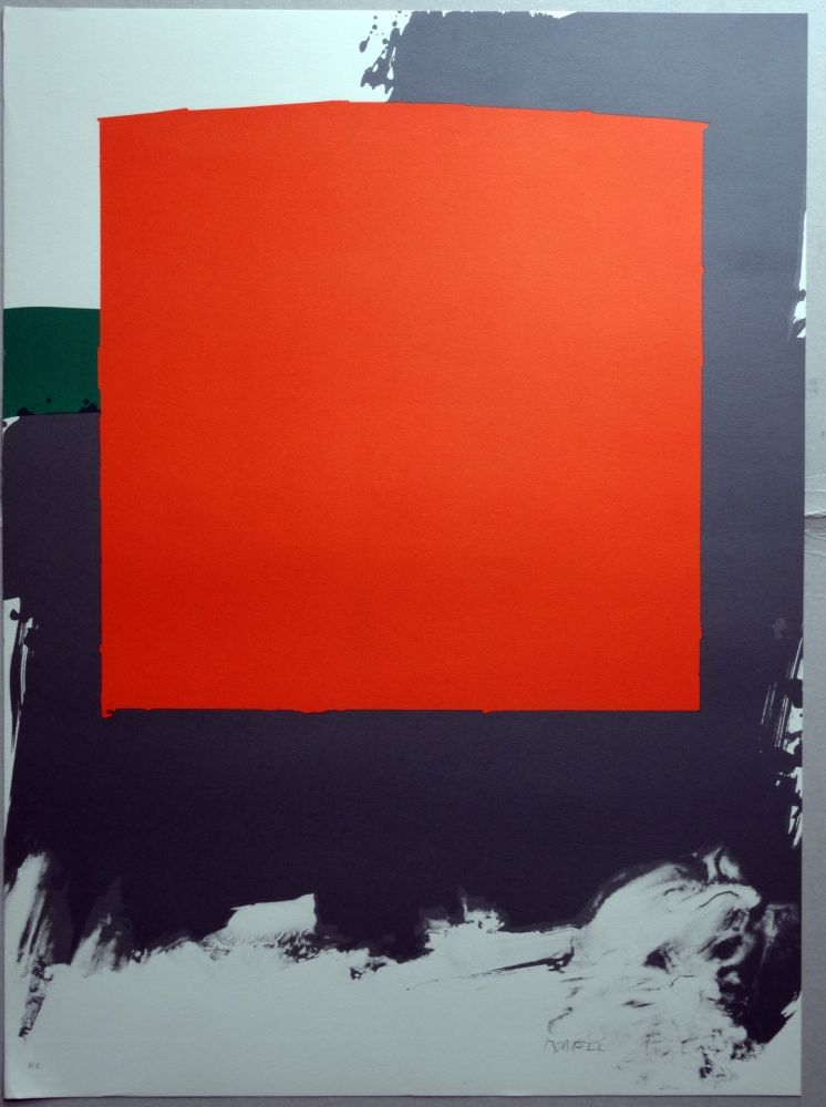 Lithographie Borrell Palazón - A.L. BARCELONA 90