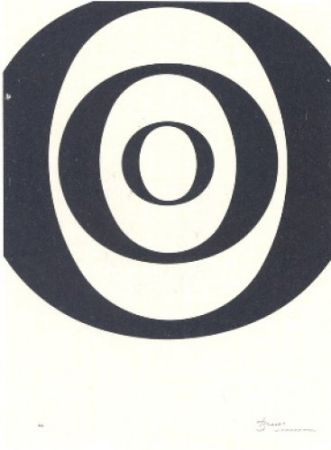 Lithographie Brossa - A.L. Joan Prats