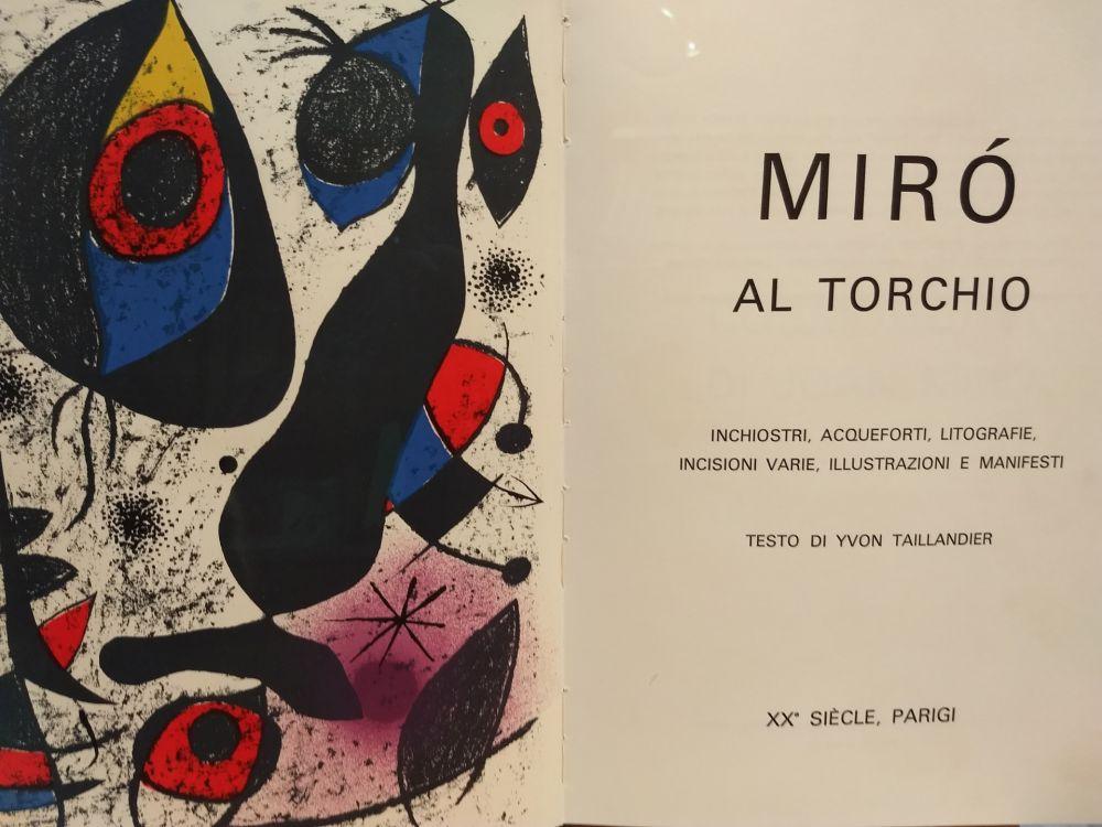 Livre Illustré Miró - Al Torchio
