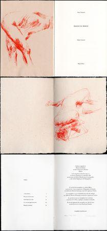 Livre Illustré Garache - Alain Veinstein. ÉBAUCHE DU FÉMININ. Maeght 1981
