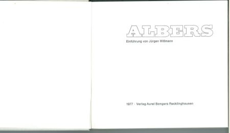 Sérigraphie Albers - Albers - Homages to the Suare als Wechselwirkung der Farbe