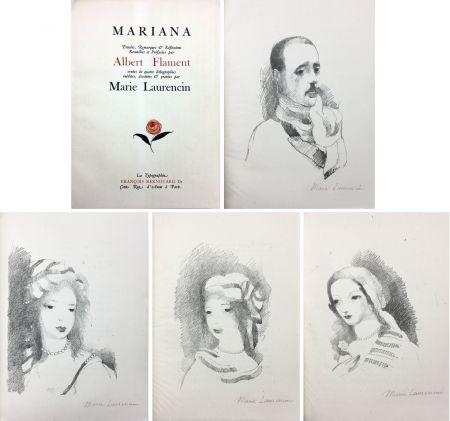 Livre Illustré Laurencin - Albert Flament : MARIANA (1932)