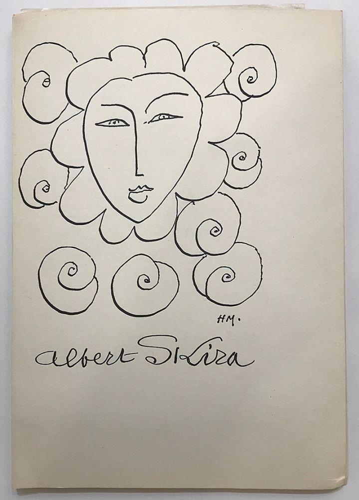 Livre Illustré Matisse - Albert Skira - Vingt ans d'activité (1948)