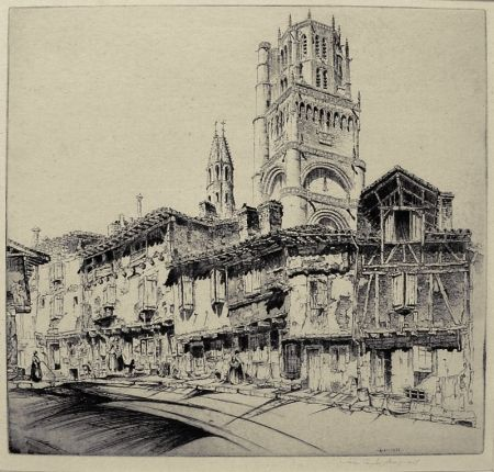 Gravure Arms - Albi (a.k.a. The Cathedral of Ste. Cecile)