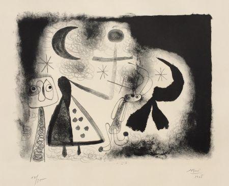 Lithographie Miró - Album 13 – Plate V