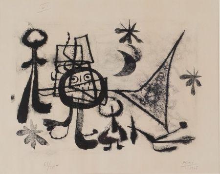 Lithographie Miró - Album 13, Plate VI