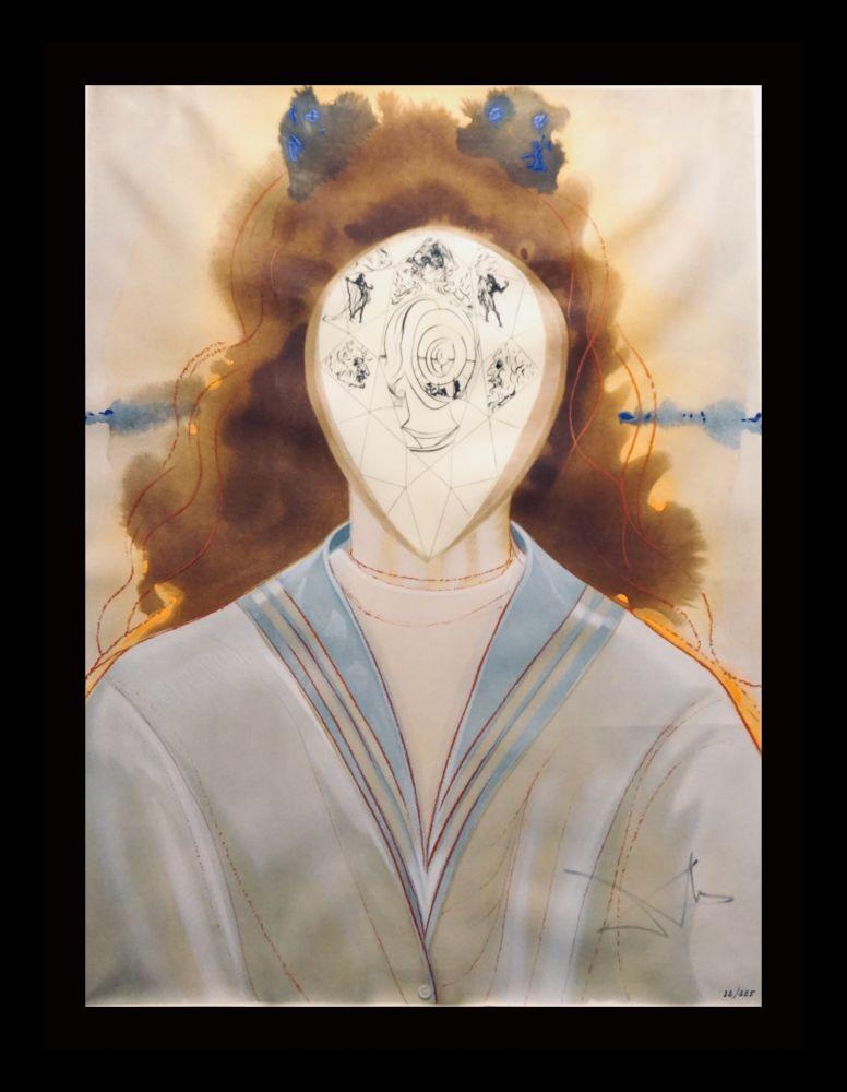 Gravure Dali - Alchimie des Philosophes L'Immortalite