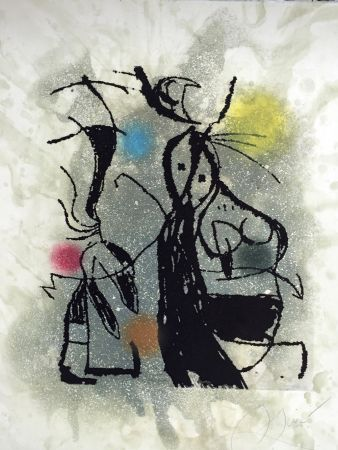 Eau-Forte Et Aquatinte Miró - Aldebaran (D. 1008)