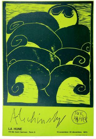 Affiche Alechinsky - Alechinsky sur papier, 1973