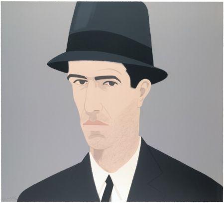 Sérigraphie Katz - Alex Katz Passing Self Portrait (Alex and Ada Suite)