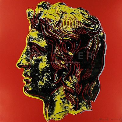 Sérigraphie Warhol - Alexander The Great (Fs Ii.292)