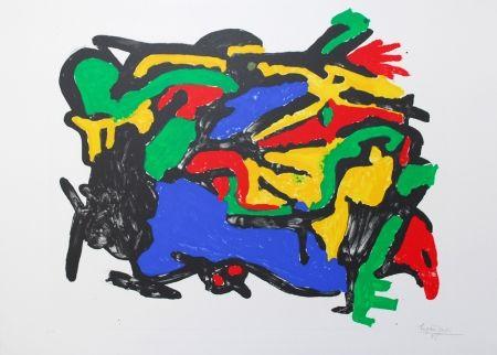 Lithographie Ionesco - ALEXANDRE