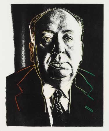 Sérigraphie Warhol - Alfred Hitchcock