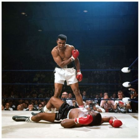 Photographie Leifer - Ali vs. Liston