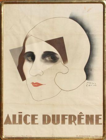 Lithographie Colin - Alice Dufrene