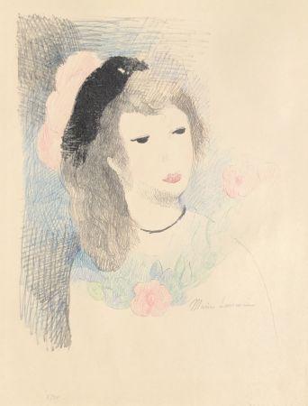 Lithographie Laurencin - Alice et le fiasco