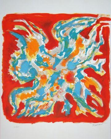 Lithographie Manessier - Alléluia