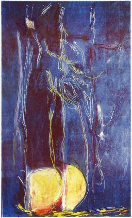 Gravure Sur Bois Frankenthaler - All About Blue