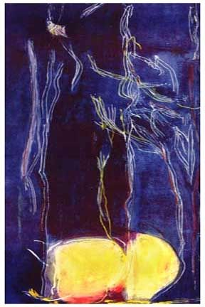 Lithographie Frankenthaler - All About Blue (1994)