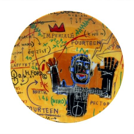 Multiple Basquiat - All colored cast