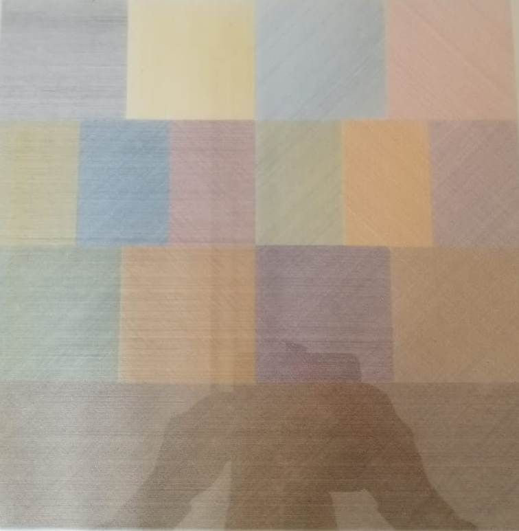 Lithographie Lewitt - All one.....