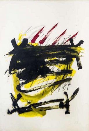Lithographie Tàpies - Als mestres de catalunya