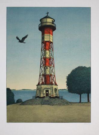 Lithographie Moritz - Alte Liebe Hamburg