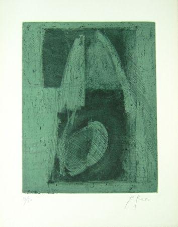 Lithographie Greco - Alterego considera lo spazio