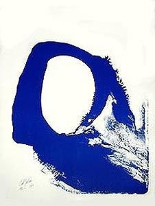 Lithographie Jenkins - Amadeus in blue n° 1