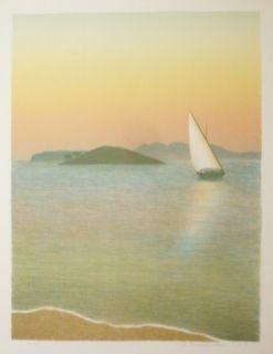Lithographie Rodrigo - Amb flaires de Formentor