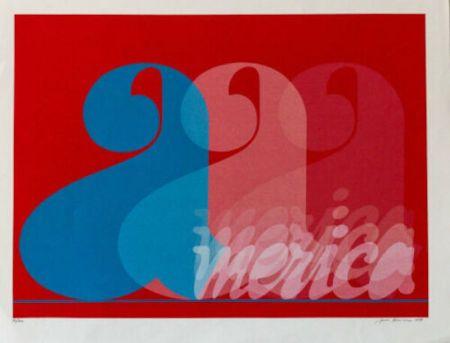 Sérigraphie Brusca - America