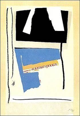 Lithographie Motherwell - America La France Variation V